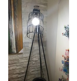 DESI FLOOR LAMP BLACK FD-1003-02