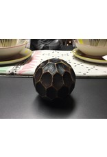 ANTIQUE CHOCOLATE DECORATIVE BALL