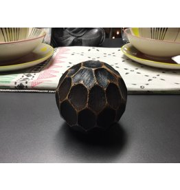 ANTIQUE CHOCOLATE DECORATIVE BALL