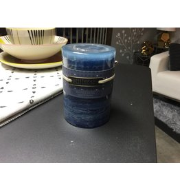 ATTITUDE PILLAR CANDLE IN BLUE