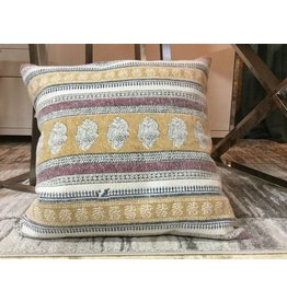 STONEWASHED COTTON PILLOW