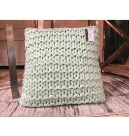 SQUARE DOROTHY PILLOW IN MINT