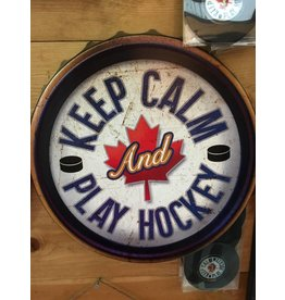 PLAY HOCKEY WALL ART