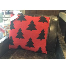KNIT FIR TREES PILLOW