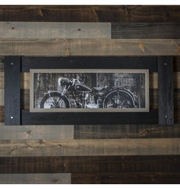 ANTIQUE MOTO WALL ART