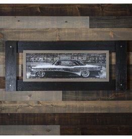 ANTIQUE CAR WALL ART