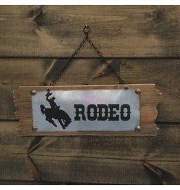 RODEO WALL PLAQUE