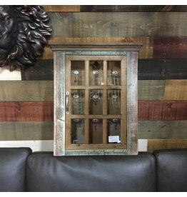 RUSTIC WALL CABINET FOR KEYS