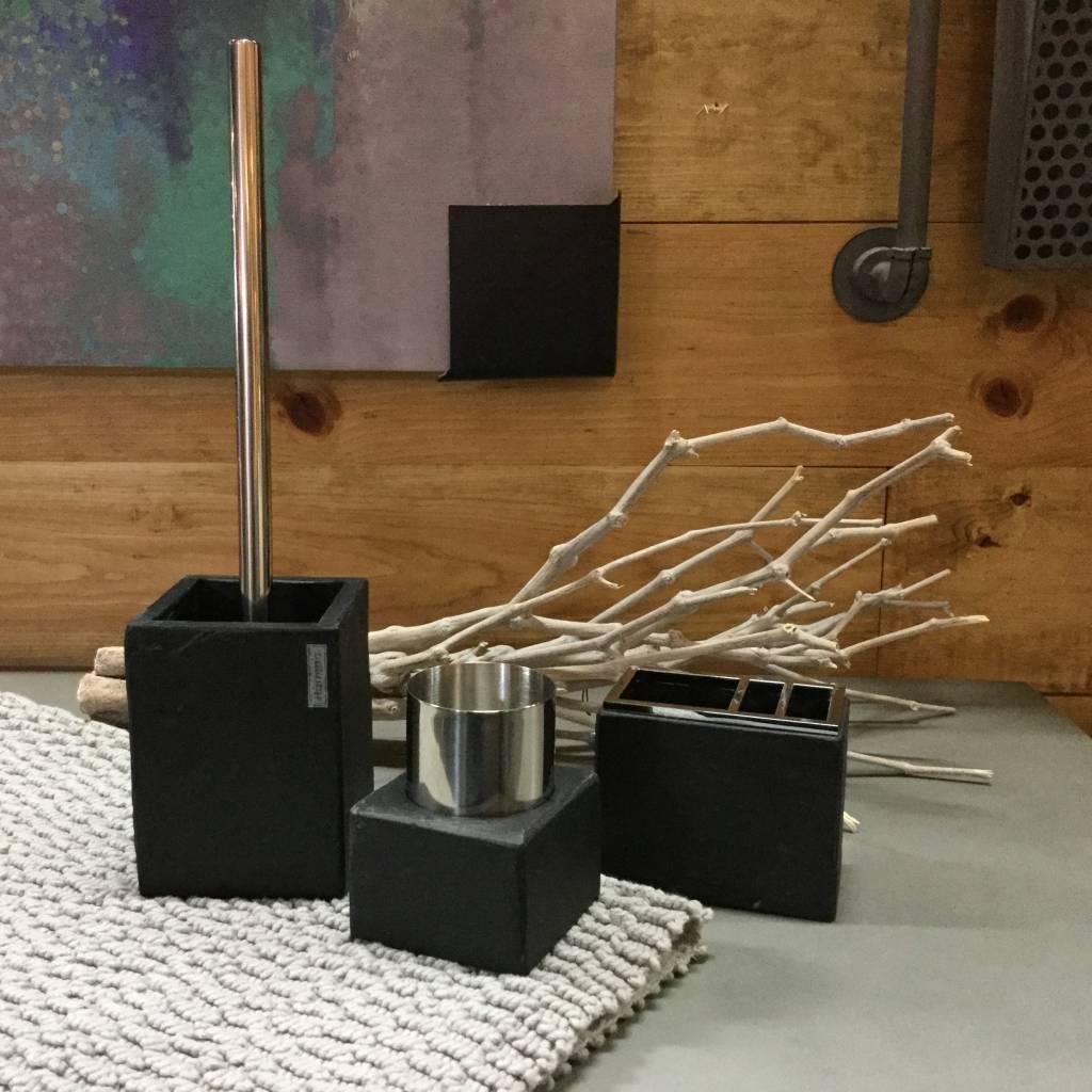 accessoires de salle de bain ardoise distribution koloray. Black Bedroom Furniture Sets. Home Design Ideas