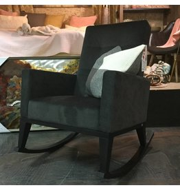 LISA-MARY ROCKING CHAIR IN BLACK
