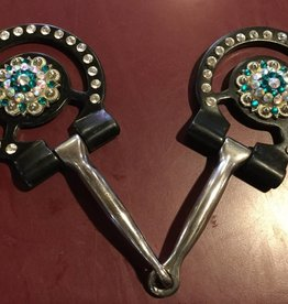 Show Snaffle with Rhinestones