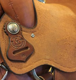 "Circle L Circle L Saddle Wade Tree Roper - 15"" FQHB"
