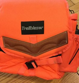 Insulated Trailblazer Saddle Bag - Blaze Orange