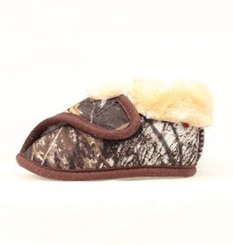 Infant Double Barrel Camo Fleece Lined Moccasins