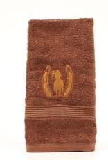 """Rider and Horseshoe Hand Towel - 20""""x28"""""""