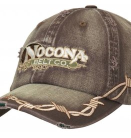 Nocona Ball Cap - Nocona with Barb Wire