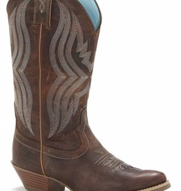 Justin Western Women's Justin Quinlan Coffee Western Boot (Reg $169.95 now 20% OFF!)