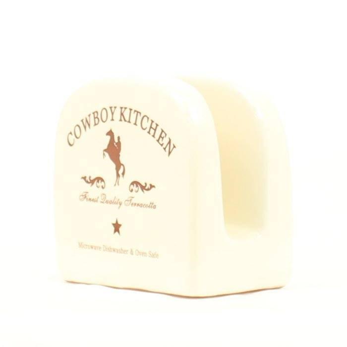 Cowboy Kitchen Napkin Holder