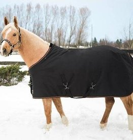 "Kensington Kensington All Around Heavy Weight ""CoolPlus"" Turnout Blanket, Black"
