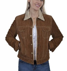 Scully Leather Women's Scully Cinnamon Boar Suede Jacket