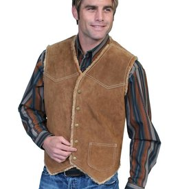 Scully Leather Men's Scully Boar Suede Hunting Vest