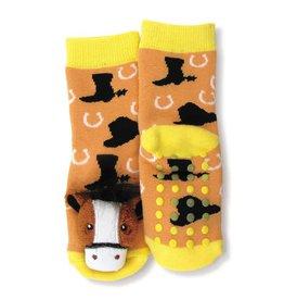 GT Reid Infant Socks with Rattle
