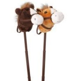 Tough-1 Plush Stick Horse w/Adj Stick & Sound