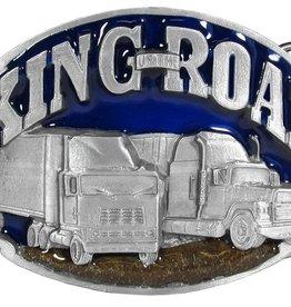 WEX Belt Buckle - King Of The Road Trucker