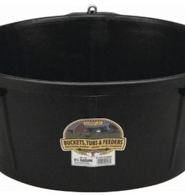 Little Giant Rubber Feed Tub w/ Rings Rubber 6.5 Gal