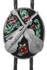 WEX Bolo Tie - Country Music & Rose