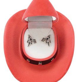 WEX Earrings - Barrel Racer in Gift Box