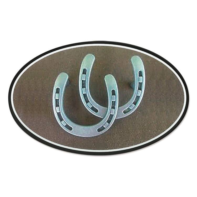 Decal - Double Horseshoes Euro Style