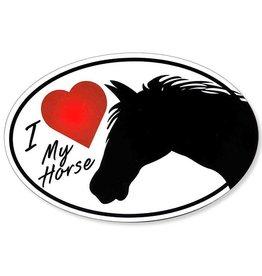 "GT Reid Magnet - ""I Love My Horse"""