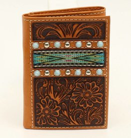Wallet - Men's Ariat Trifold