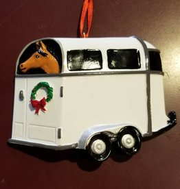 GT Reid Ornament - Horse Trailer