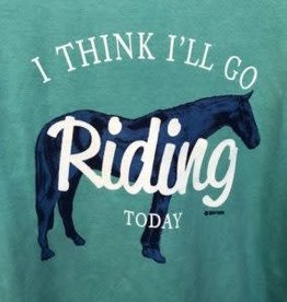 Stirrups Women's Stirrups T-Shirt - I Think I'll Go Riding Today