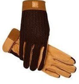 SSG Lycrochet Glove  Brown 6