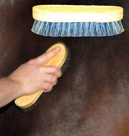 Intrepid Silky Body Brush Pig Bristle Long Oval