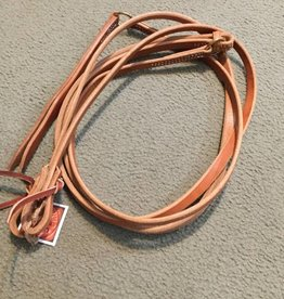 "Circle L Circle L Leather Working Romal Reins - 5/8"" Natural Oil"
