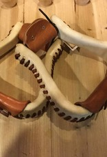 Circle L Circle L Rawhide Laced Stirrups - Adult Wide
