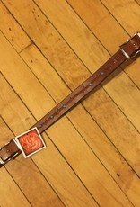 Circle L Circle L Fancy Wither Strap w/Scissor Snaps U.S.A. Made -