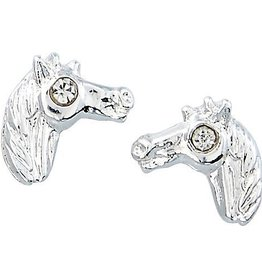 AWST Earrings - Horse Head in Cowboy Hat Gift Box