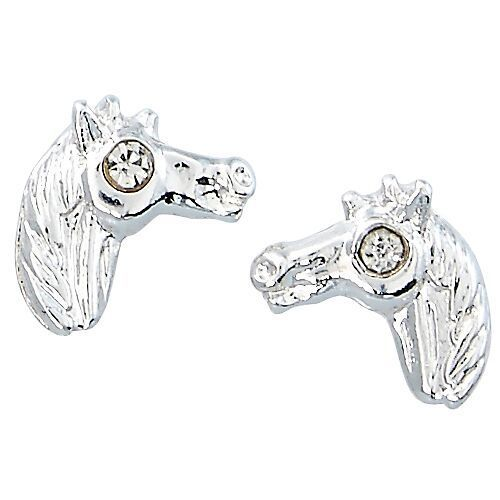 AWST Earrings - Horse Head in Cowboy Hat Gift Box