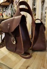 Circle L Circle L Leather Horn Bag