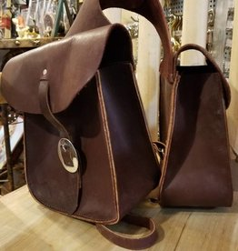 Circle L Circle L Leather Horn Bag