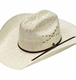 Ariat Adult Bangora Straw Hat - Ivory/Brown