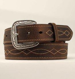 Ariat Boot-Stitch Leather Belt