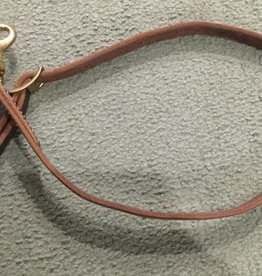 Circle L Tie Down Strap with Snap Leather Horse