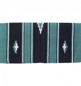 "Tough-1 Sierra Navajo Acrylic Blend Saddle Blanket - Assorted Colors 32""x32"""