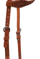 Showman Argentina Cow Leather One-Ear Headstall